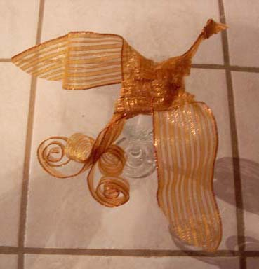 Completed Ribbon Bird