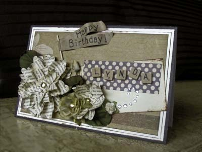Tutorial: Recycle Old Book Pages to add Elegance to Handmade Cards