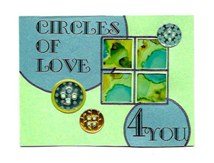 Circles of Love Card for Card Care Connection