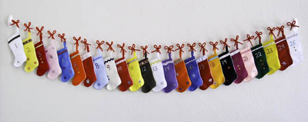 Christmas Stocking Advent Calendar
