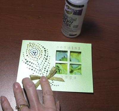 Die Cut Window Card for Card Care Connection