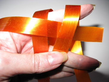 Weaving Second Ribbon