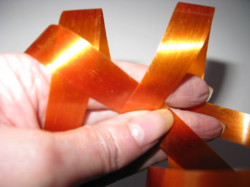 Slanting Second Ribbon Strip