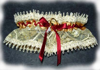 Free Crochet Pattern - McCall's Crochet Bridal Garter from the
