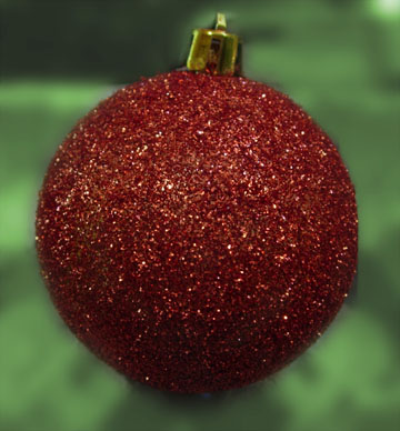 Plastic ornaments cant be recycled.