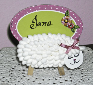Lamb Place Card Holders