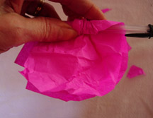 Paper Flower Assembly 3