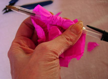 Paper Flower Assembly 4