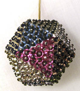 Sequin Faceted Ornaments