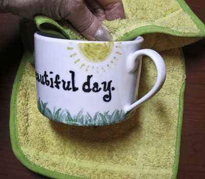 Sharpie Painted Mug