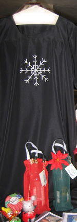 Snowflake Painted Dress