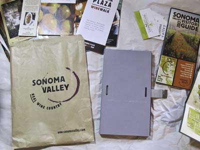 Sonoma Travel Journal