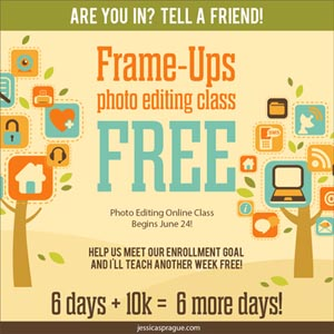 Free Week Long Video Photoshop Class